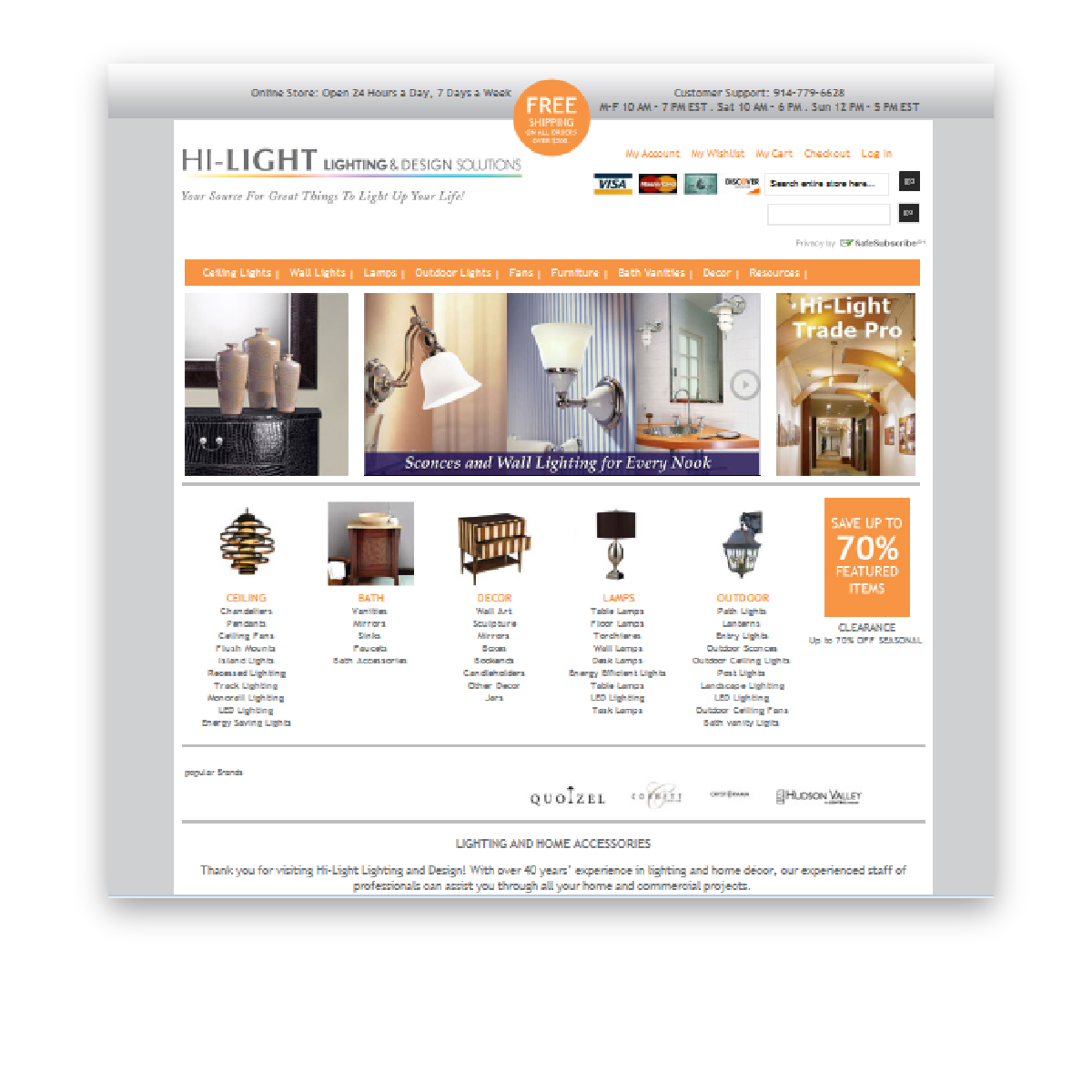 Hi-Light DecoratingWebsite Design & Development